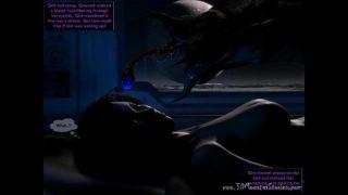 Alien creature invades Gwyneth's bedroom!