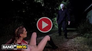 BANGBROS – Kara Lee Encounters Scary Villain In The Woods