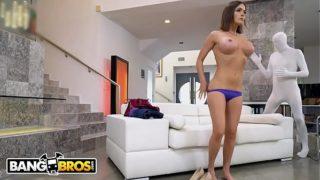 BANGBROS – Krissy Lynn Takes Vlad The Impaler's 18 Inch Russian Cock