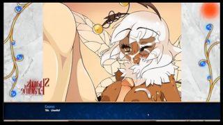 Bee Girl Titty Fucking from Shards of Eradine