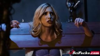 Big tits blondie Phoenix Marie is the new Goddess of Thunder