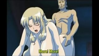 Bonded hentai blonde doll gets mouth and cunt fucked hard p1- hentaifetish.space