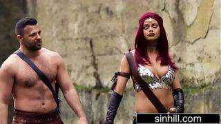 Busty Jessa Rhodes As Red Sonja – XXX Parody