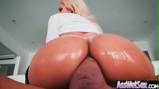 (Luna Star) Gorgeous Girl With Huge Ass Enjoy Deep Anal Bang clip-24