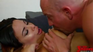 Luna Star Sucks Off An Older Man