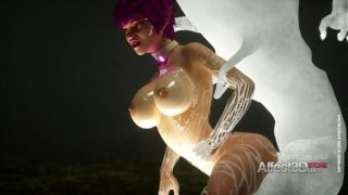 New 3d animation game with a big tits elf beauty