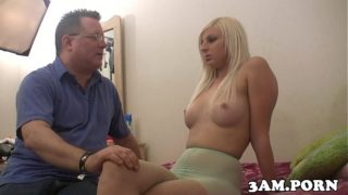 Pov hooker gagging on dick after interview