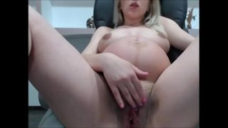 Pregnant babe with big pussy and tits on webcam deviant on ChatGirls.cloud