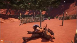 wild life game animation 3d village sex minotaur  cow monster animal bestality master furry