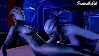 Mass Effect – Samara – Full Compilation GIF