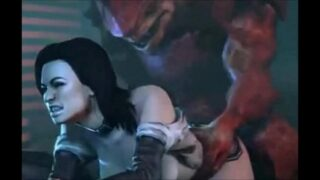 Mass Effect – Wrex – Full Compilation GIF
