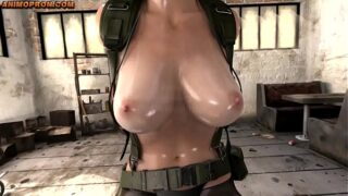 (WITH FART) Quiet from Metal Gear Solid finally talks – Part 1 (NO HORSE)