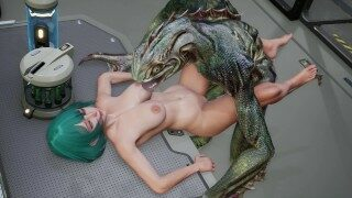 3D Hentai: ROUGH SEX WITH A MONSTROUS FISH (Fallen Doll: Operation Lovecraft)
